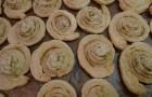 Sušenky z listového těsta (tužebník)