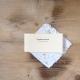 Ruční papír malý se semínky třapatky nachové