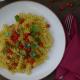 Divoká rajčata, těstoviny