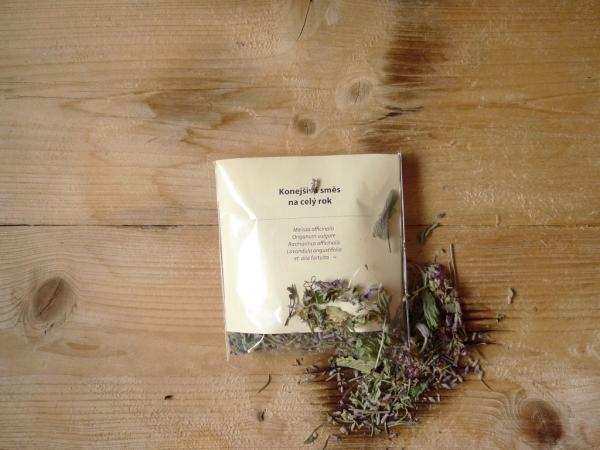 Konejšivá směs bylin na čaj i do koupele