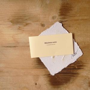 Ruční papír velký se semínky měsíčnice roční