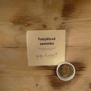Fenyklové semínko do kuchyně